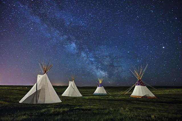 <p>The aim of the series, called Skyglow, was to show of the incredible vastness of the night sky, Gavin, 37, said, in the hope of inspiring people to care about dark skies. (SKYGLOW/CATERS NEWS) </p>