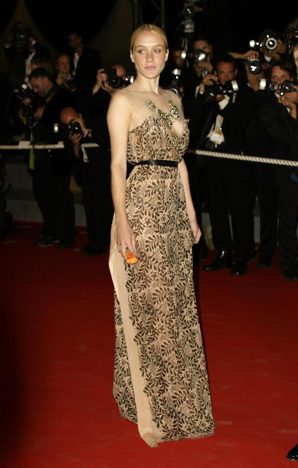 Chloë Sevigny at the 56th Cannes Film Festival in 2003.