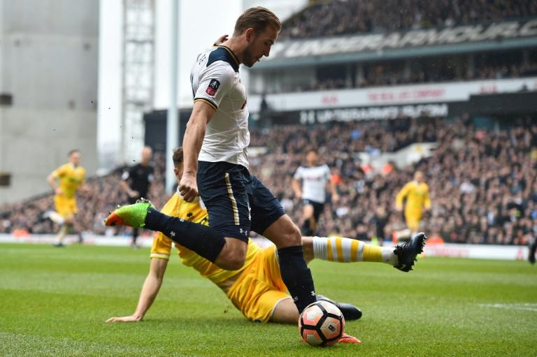 Tottenham Hotspur's Harry Kane is sidelined for several weeks with ankle ligament damage sustained against Millwall in the FA Cup quarter-finals