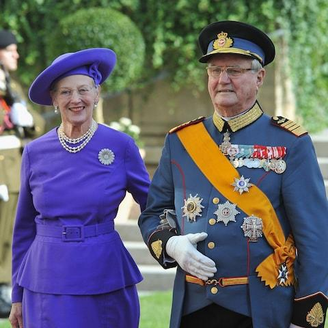 Prince Henrik said husbands are worth less than their wives under royal protocol  - Credit: Pascal Le Segretain /Getty