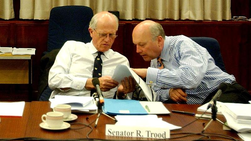 A former Liberal senator Russell Trood has lost his battle with thyroid cancer.