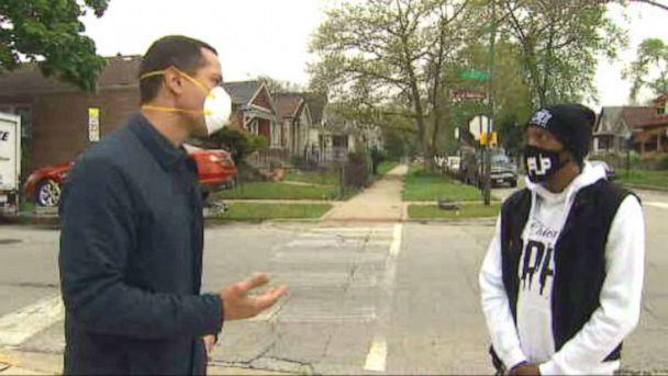 PHOTO: Anti-violence leader Terrance Henderson is working around the clock, scrambling to put a dent in both the crime crisis and COVID-19 pandemic hitting Chicago's Roseland community. (ABC News)