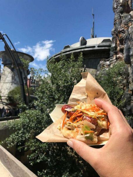 PHOTO: Ronto Roaster at the new Star Wars: Galaxy's Edge. (Genevieve Brown / ABC News )