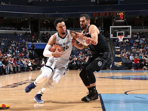MEMPHIS, TN - JANUARY 2: Dillon Brooks #24 of the Memphis Grizzlies handles the ball against the Detroit Pistons on January 2, 2019 at FedExForum in Memphis, Tennessee. (Photo by Joe Murphy/NBAE via Getty Images)