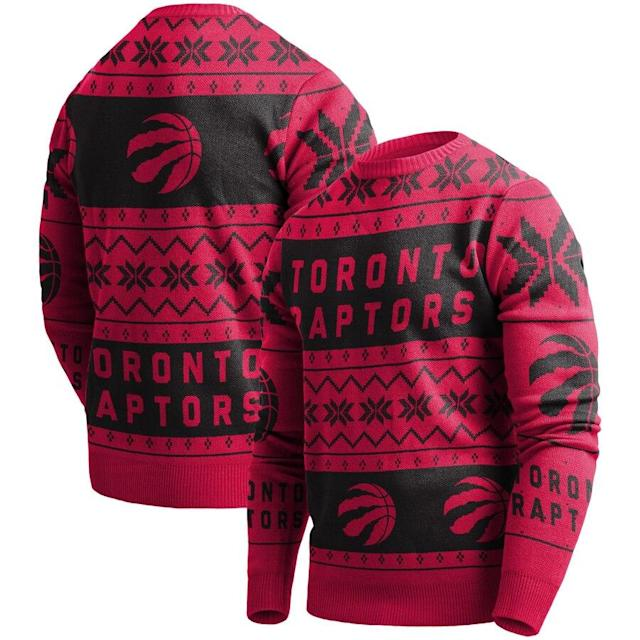 Raptors Ugly Pullover Sweater