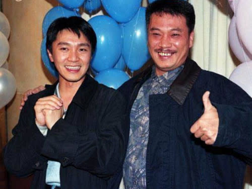 Ng Man Tat with Stephen Chow