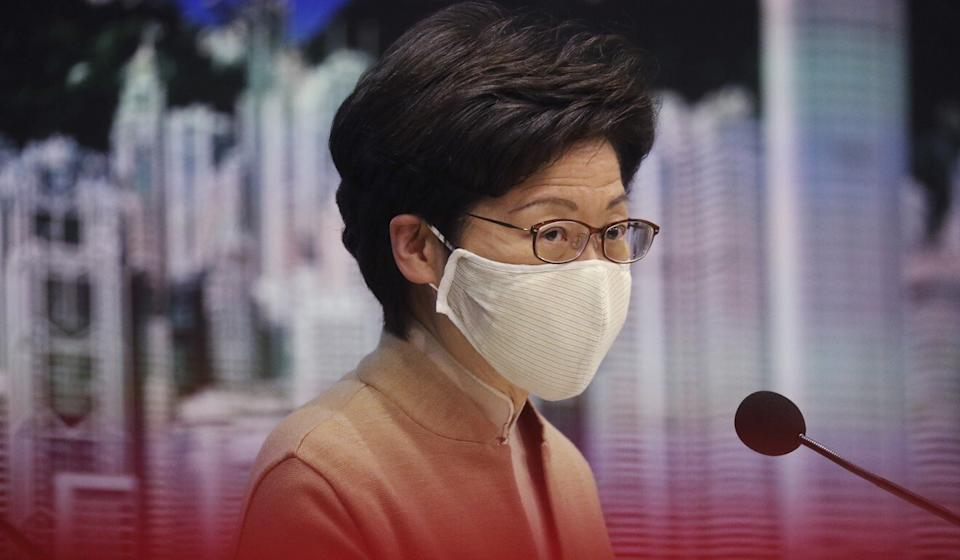 Chief Executive Carrie Lam Cheng Yuet-ngor's Policy Address next Wednesday is expected to include the Lantau Tomorrow Vision. Photo: Nora Tam