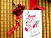 """<p>Dig out your watercolors, and use this elegant card as a reference to create your own seasonal greetings. </p><p><em>Get the tutorial at <a href=""""http://life-athon.com/2015/12/diy-watercolor-christmas-socks-card/"""" rel=""""nofollow noopener"""" target=""""_blank"""" data-ylk=""""slk:Life-athon"""" class=""""link rapid-noclick-resp"""">Life-athon</a>.</em> </p><p><a class=""""link rapid-noclick-resp"""" href=""""https://www.amazon.com/Zenacolor-Watercolor-Detachable-Containers-Non-Toxic/dp/B07XZGKGW1?tag=syn-yahoo-20&ascsubtag=%5Bartid%7C10072.g.34351112%5Bsrc%7Cyahoo-us"""" rel=""""nofollow noopener"""" target=""""_blank"""" data-ylk=""""slk:SHOP WATERCOLORS"""">SHOP WATERCOLORS</a></p>"""