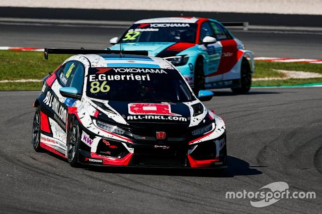 "Esteban Guerrieri, ALL-INKL.COM Münnich Motorsport Honda Civic Type R TCR <span class=""copyright"">WTCR WTCR </span>"