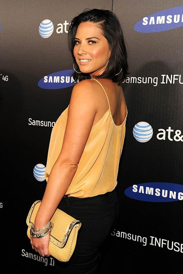 """Geek goddess Olivia Munn was yummy in yellow. John Sciulli/<a href=""""http://www.wireimage.com"""" target=""""new"""">WireImage.com</a> - May 12, 2011"""