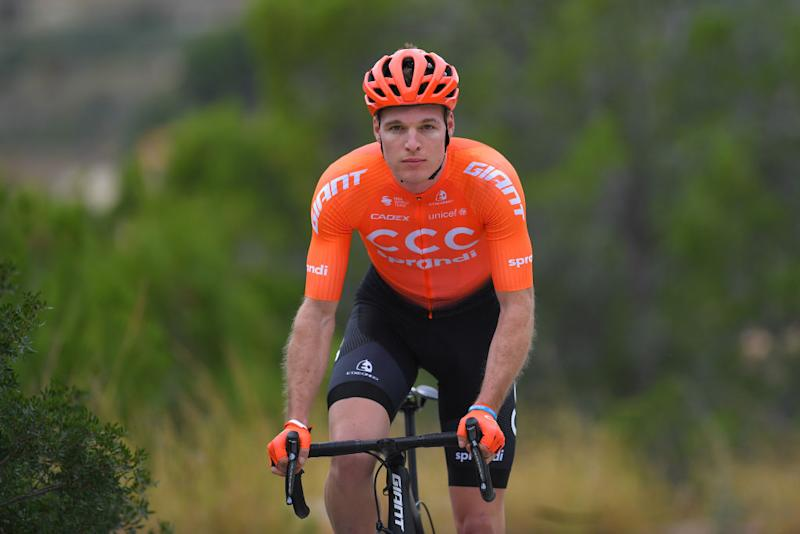 Van Hoecke has spent the past two seasons at CCC Team