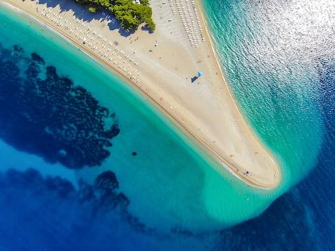 Zlatni Rat, Brac - Credit: GETTY