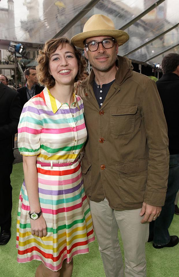 """<a href=""""http://movies.yahoo.com/movie/contributor/1809819112"""">Kristen Schaal</a> and <a href=""""http://movies.yahoo.com/movie/contributor/1800019165"""">Jason Lee</a> at the Los Angeles premiere of <a href=""""http://movies.yahoo.com/movie/1810188975/info"""">The Muppets</a> on November 12, 2011."""