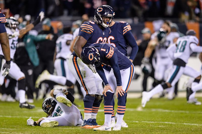 Bears' new kicker once double-doinked a field goal