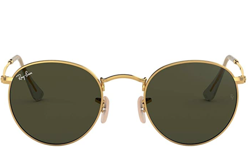 Classic Round Sunglasses de Ray-Ban. Foto: amazon.com.mx
