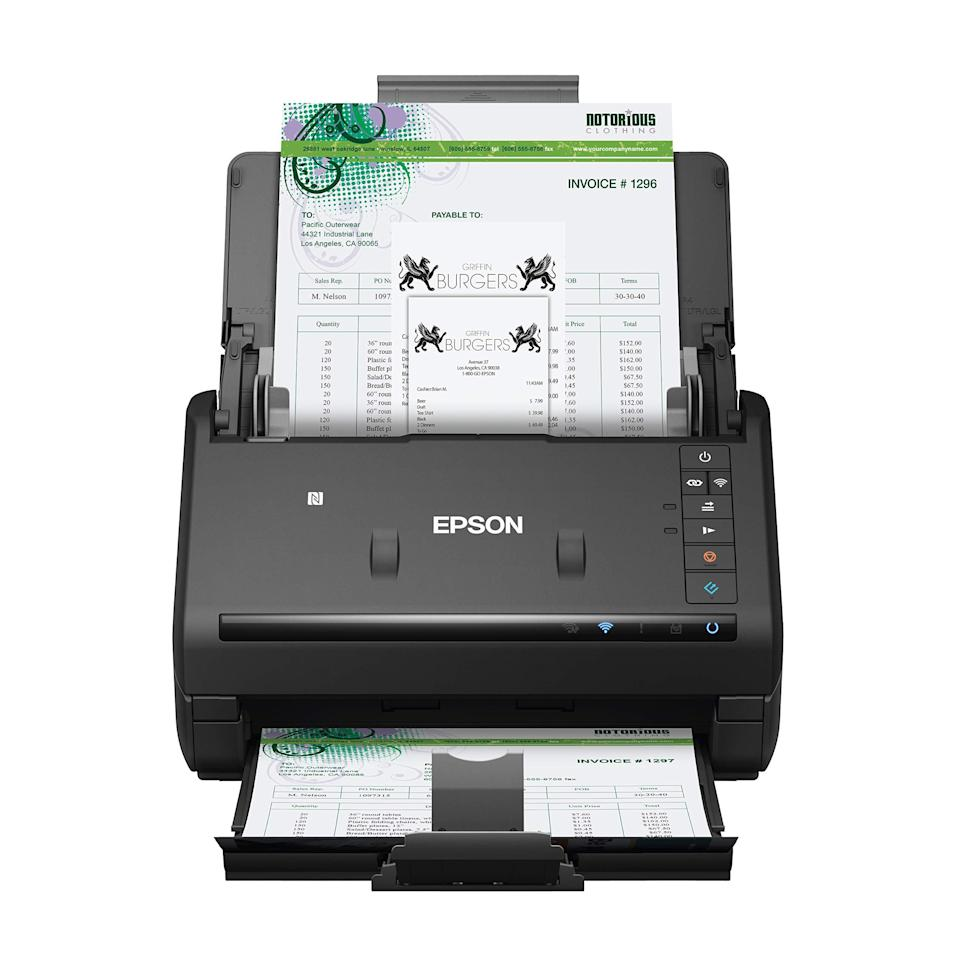"<h2>Document Scanner for PC and Mac</h2><br><br><strong>Epson</strong> Epson Workforce Document Scanner for PC and Mac, $, available at <a href=""https://amzn.to/3do1X4P"" rel=""nofollow noopener"" target=""_blank"" data-ylk=""slk:Amazon"" class=""link rapid-noclick-resp"">Amazon</a>"