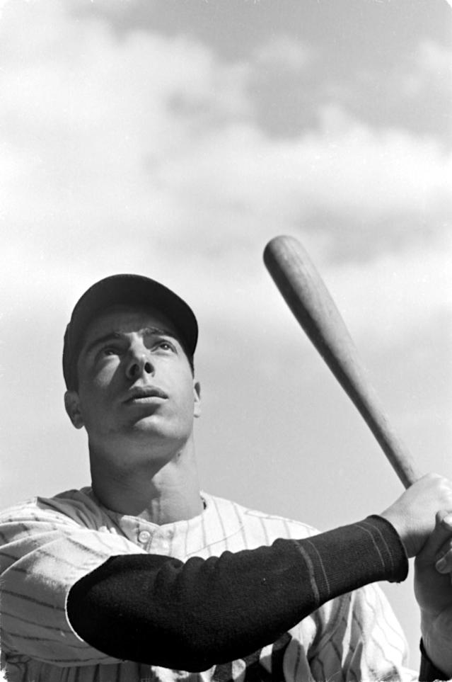<p>Record-breaker? Simple business. 'Joltin' Joe got at least one safe hit for the New York Yankees in 56 consecutive games. </p>
