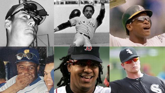 Baseball Players and Sunglasses