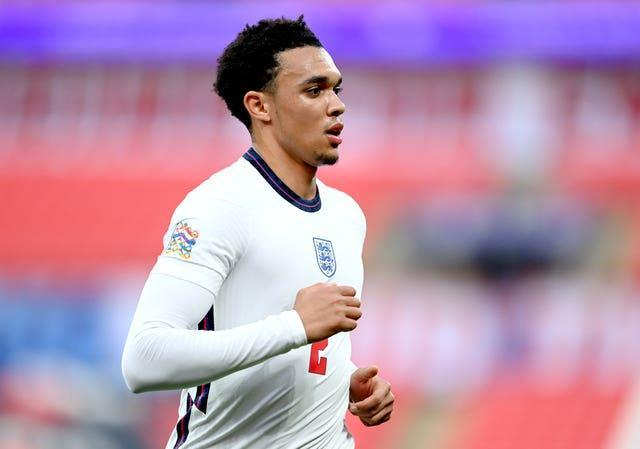 Trent Alexander Arnold was overlooked in favour of Kieran Trippier, Kyle Walker and Reece James