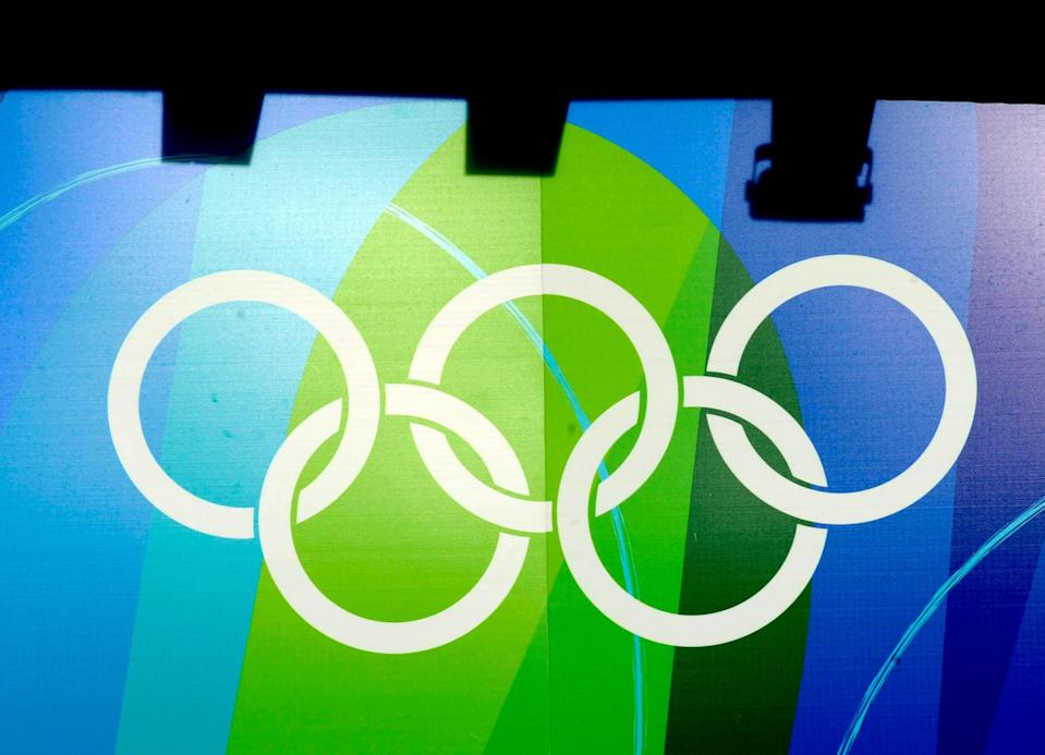 The Olympic rings (Rebecca Naden/PA) (PA Archive)
