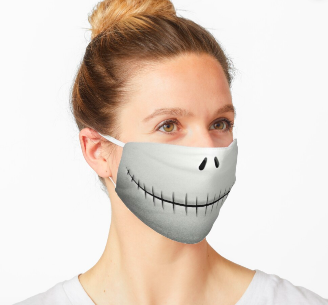 redbubble halloween mask