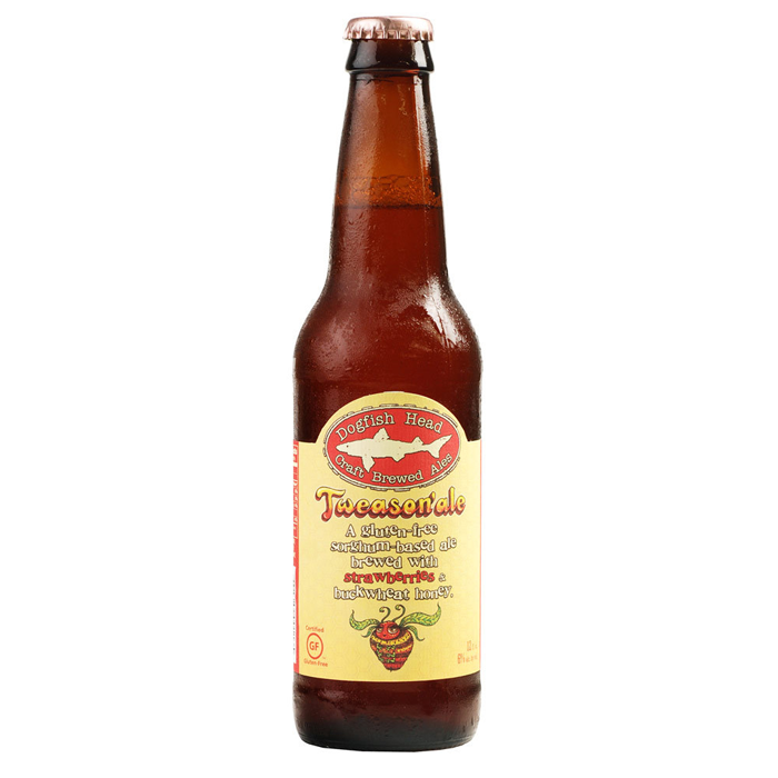 """<p>Surprisingly (and thankfully!), Dogfish Head does gluten-free beer just as well as they do regular brews. This sorghum-based ale is released four times a year in between their seasonal suds. Flavored with strawberries, sweetened with a bit of buckwheat honey, and topped off with hints of molasses and mild hops, the brew has a mild, fruity taste. (And it's delicious, just like these <a href=""""https://www.shape.com/healthy-eating/meal-ideas/10-gluten-free-breakfast-recipes"""" target=""""_blank"""">10 Gluten-Free Breakfast Recipes</a>.)</p>"""