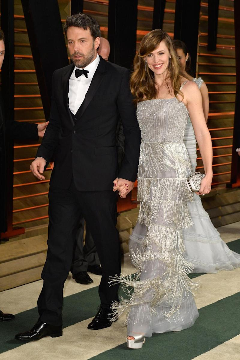 Split: The couple ended their marriage after 10 years (Pascal Le Segretain/Getty Images)