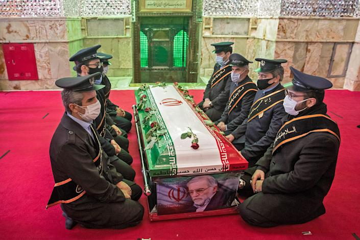 Members of Iranian forces