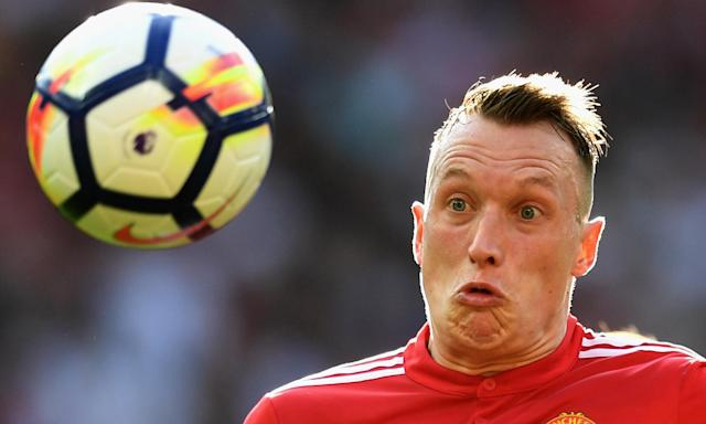 Is Phil Jones heading for a training ground collision with Jack Wilshere at Everton?
