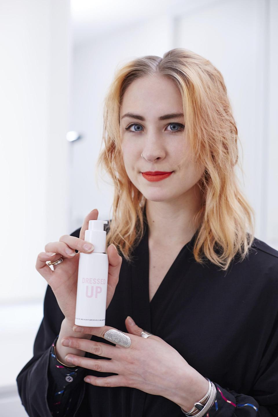<p>Start with damp hair, but make sure it's not too wet. That can cause the style to take too long to dry and the shape of the curls won't hold.</p>