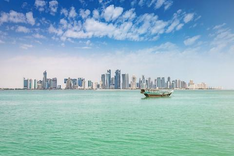 Doha from the water - Credit: GETTY