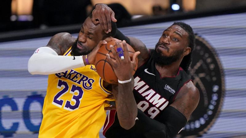 LA Lakers on the verge of NBA title after six-point win over Miami Heat