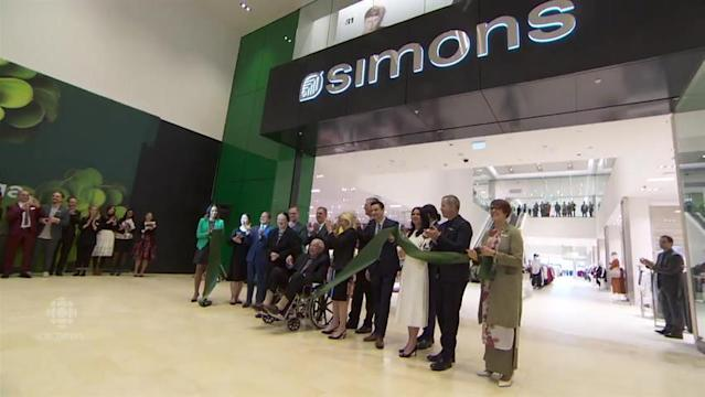 Quebec fashion retailer Simons open its first store in Ontario at Mississauga's Square One mall