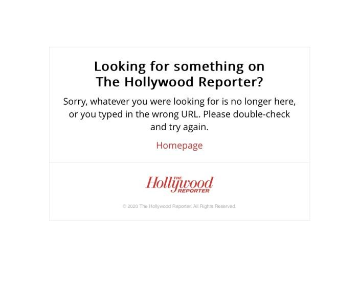 "Shown is a screenshot of the Hollywood Reporter's home page on Wednesday afternoon when it was temporarily down. <span class=""copyright"">(Wendy Lee / Los Angeles Times)</span>"