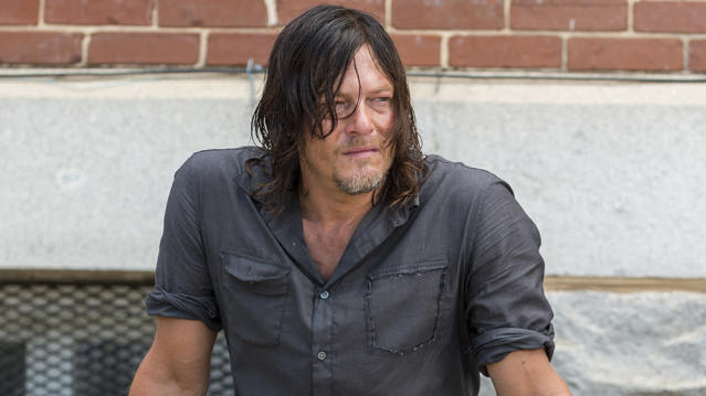 Norman Reedus as Daryl Dixon in  <em>The Walking Dead. </em>(Photo: AMC)
