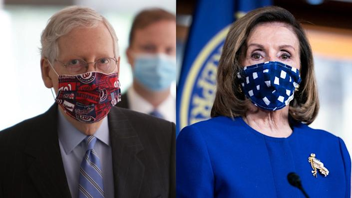 Nancy Pelosi and Mitch McConnell, Congress