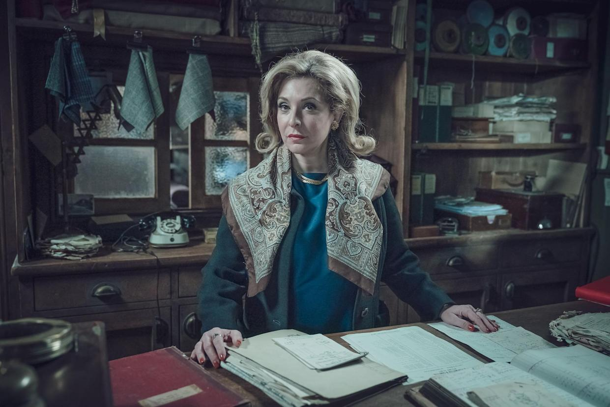 WARNING: Embargoed for publication until 00:00:01 on 28/09/2021 - Programme Name: Ridley Road - TX: n/a - Episode: Generics (No. n/a) - Picture Shows:  Nancy Malinovsky (TRACY-ANN OBERMAN) - (C) Red Productions - Photographer: Ben Blackall