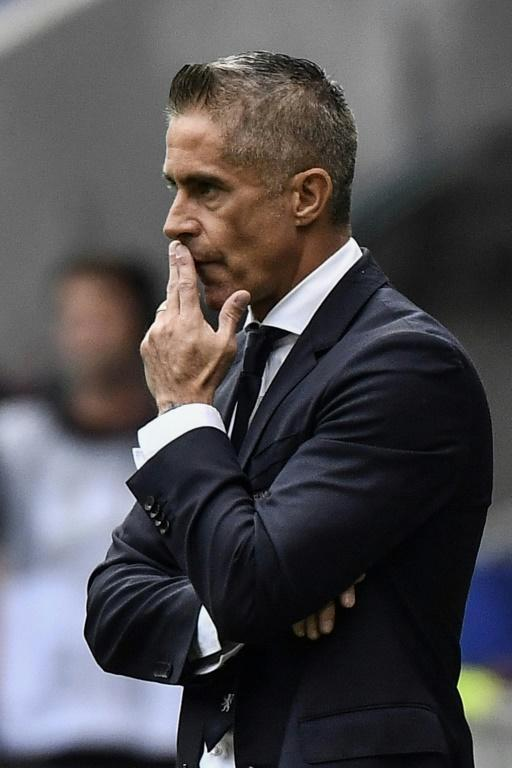Lyon have had a poor start to the season under their new Brazilian management team, leaving coach Sylvinho under severe pressure (AFP Photo/JEFF PACHOUD)
