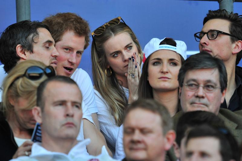 Exes: Prince Harry and Cressida Bonas (AFP/Getty Images)
