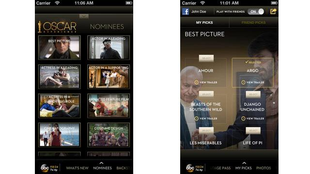 The Best Apps for the Oscars