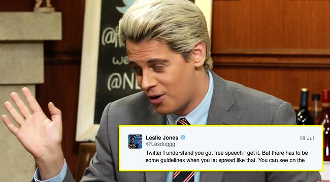 Twitter 'Permanently Banned' Milo Yiannopoulos After Leslie Jones