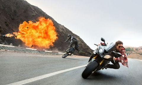 Tom Cruise in Mission: Impossible - Rogue Nation. Photo: Paramount Pictures