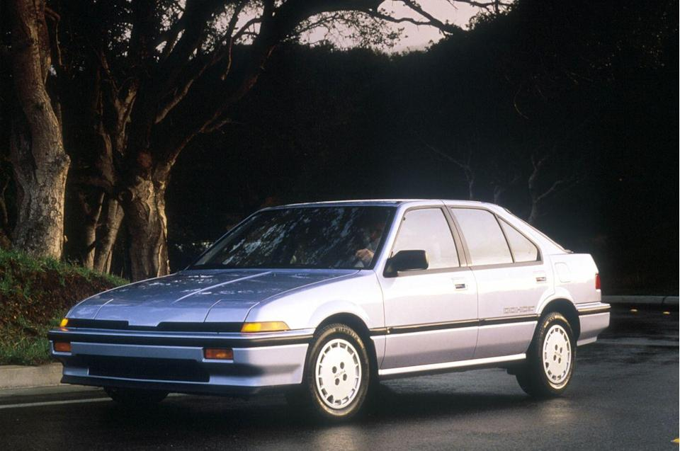 """<p>And then there's the clean, righteously '80s styling, which evokes memories of Trapper Keepers, <em>The Search for Animal Chin</em>, and pegged pants—and still looks great today. That's no easy feat. Another reason the Integra was so cool is that it was among the first cars to establish Honda as a legitimate purveyor of performance, coming online when Big H was starting to kick out tasty jams like <a href=""""http://www.caranddriver.com/flipbook/kicking-in-the-history-of-honda-si-cars-in-america#1"""" rel=""""nofollow noopener"""" target=""""_blank"""" data-ylk=""""slk:the Prelude Si, Civic Si, and CRX Si"""" class=""""link rapid-noclick-resp"""">the Prelude Si, Civic Si, and CRX Si</a>. Moreover, the Integra was in the first wave of front-wheel-drive sporty coupes that would become the go-to machines for an entire generation of enthusiasts. <em>—Erik Johnson</em></p>"""