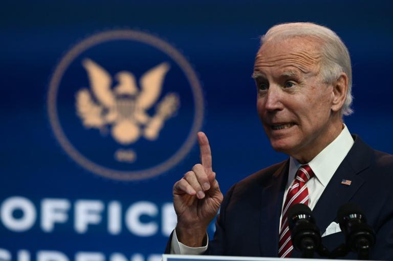 US President-elect Joe Biden said he will release his trade policy agenda one day after he takes office