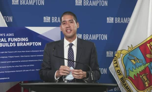 Peel's medical officer of health Dr. Lawrence Loh says the number of residents who have yet to be fully protected against the virus is weighing on him, as the region continues to navigate the fourth wave of COVID-19. (CBC - image credit)