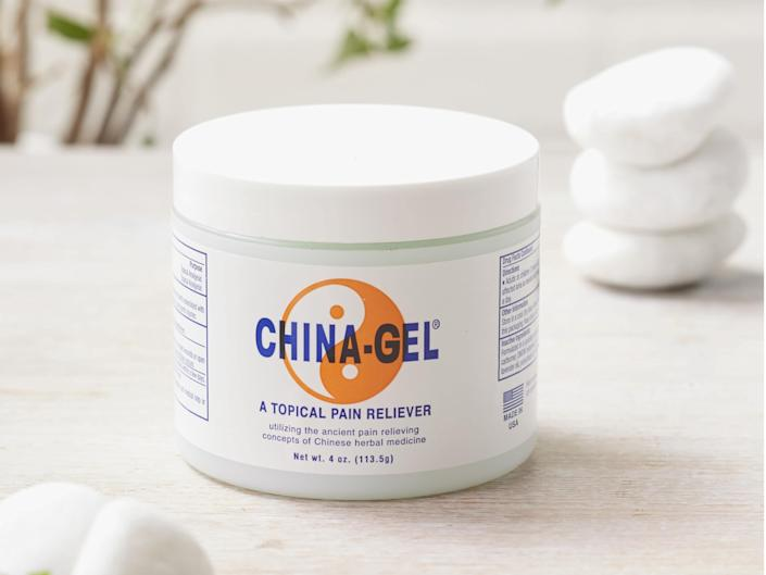 This topical, tingly gel will soothe sore muscles (Yoga Matters)