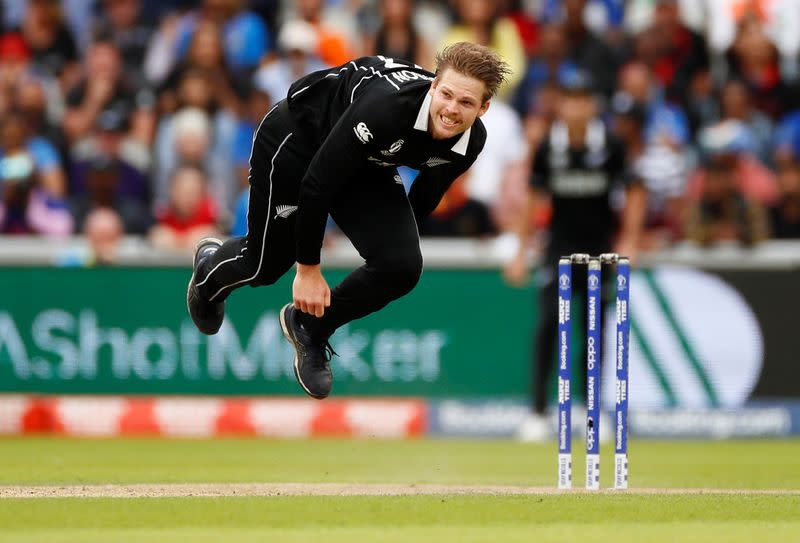 New Zealand's Ferguson not expecting to make India test series