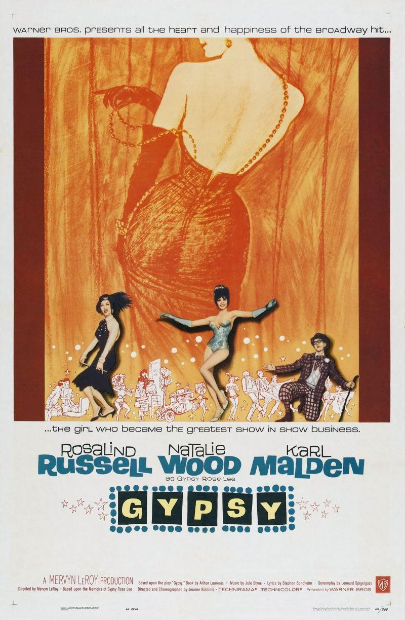 """<p>Rosalind Russell's monologue and then performance of """"Rose's Turn"""" is just straight up iconic. Rose is the ultimate stage mom trying to push her daughters into the entertainment industry in this musical based on the life of burlesque dancer Gypsy Rose Lee, starring Natalie Wood. The costumes are something to behold as well.</p><p><a class=""""link rapid-noclick-resp"""" href=""""https://www.amazon.com/Gypsy-Rosalind-Russell/dp/B004YSDQX2/ref=sr_1_2?tag=syn-yahoo-20&ascsubtag=%5Bartid%7C10072.g.27734413%5Bsrc%7Cyahoo-us"""" rel=""""nofollow noopener"""" target=""""_blank"""" data-ylk=""""slk:WATCH NOW"""">WATCH NOW</a></p>"""