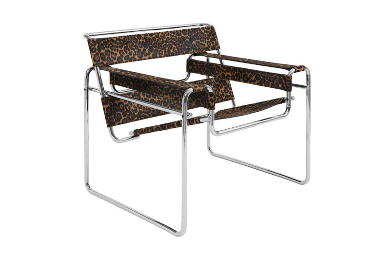 Marcel Breuer's Wassily chair gets the Supreme treatement.