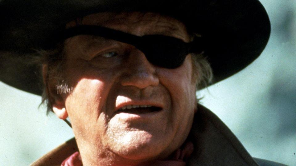 """<p>REAL NAME: Marion Robert Morrison. REASON: He was first credited as 'Duke Morrison', before director Raoul Walsh suggested 'Anthony Wayne' after Civil War general """"Mad"""" Anthony Wayne. It was vetoed as """"too Italian"""", so John Wayne was born. </p>"""